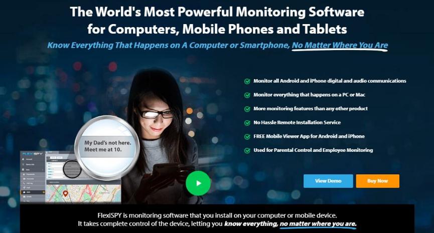 FlexiSPY Review Featured Spy App